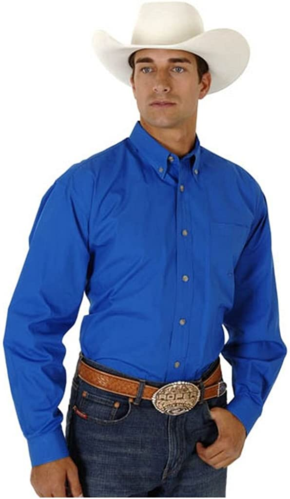 Roper Men's Amarillo Collection Shirt - 03-001-0366-0034 Kh