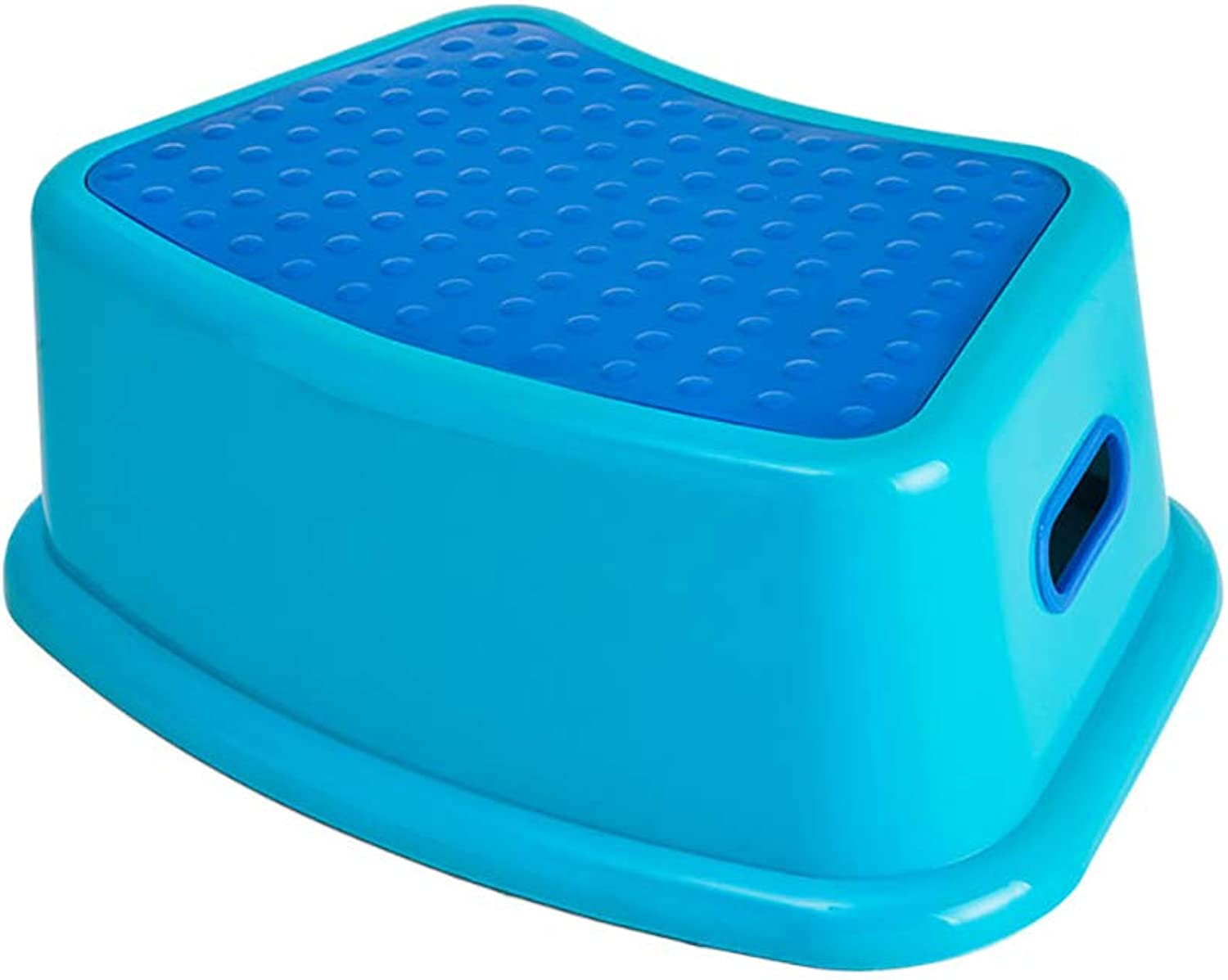 Kids Best Friend Boys bluee Stool, Soft-Grip Steps Provide Comfort and Safety