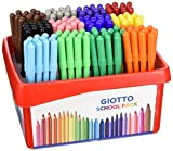 Giotto Turbo Color Schoolpack 144 Pz