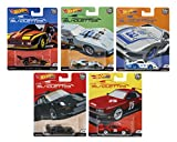 Hot Wheels Car Culture 2019 Silhouettes Set of 5, 1/64 Scale Diecast Cars
