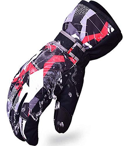 Kinder-Schnee-Ski-Handschuhe für Jungen, Mädchen, Winter, wasserdicht, für den Außenbereich, für...