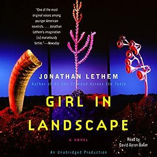 Girl in Landscape audiobook cover art