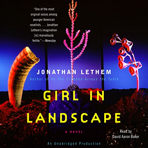 Girl in Landscape audiobook cover art