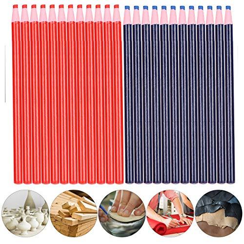 Lápiz de tiza para marcas de costura, práctico lápiz de tiza de corte libre, dibujo para coser marcas de corte