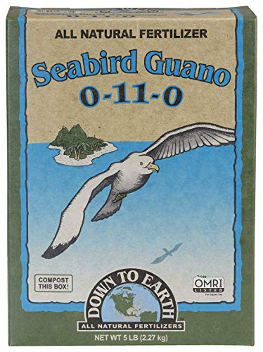 DOWN TO EARTH ALL NATURAL FERTILIZERS All Natural Seabird Guano Fertilizer