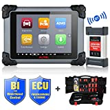 Autel MaxiSys MS908S Pro 2021 Newest Diagnostic Scan Tool for US Market, with J2534 ECU Programming, Bi-Directional Control, All Systems Diagnostics, ECU Coding, Same as MK908P, MaxiSys Elite