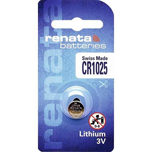 Renata CR 1025 Lithium Knopfzelle Batterie DL1025 BR 1025 (2 X Cr 1025) ansehen