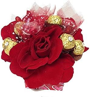 Red Rose Ferrero Rocher Candy Bouquet