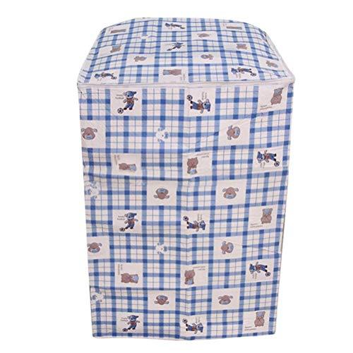 Vosarea Schutzhülle für Waschmaschine, Zum Aufladen vor der Waschmaschine, Wasserdicht, Motiv Waschbär