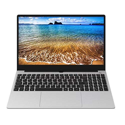 WXZQ Práctica computadora portátil de Oficina con gráficos discretos ultradelgados de 15.6 Pulgadas Core I7-6500 Silver EU 8G + 512GB