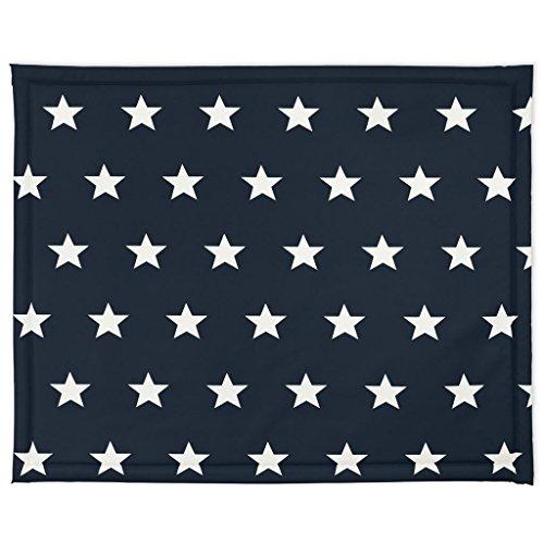 Jollein 018-512-65028 Laufgittereinlage Little Star marine Gr. 75x95cm