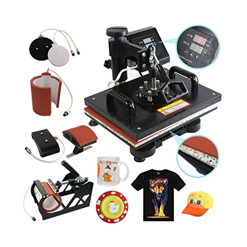5 In 1 Digital Heat Press Machine Sublimation Printer TOP SELLING ITEM