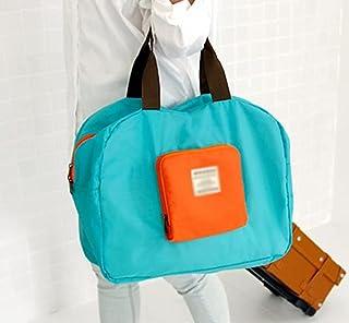 CHESHTA Street Foldable Shoulder Shopping Bag - Storage Case Organizer - High Capacity Travel Bag For Women-Men Clothing S...