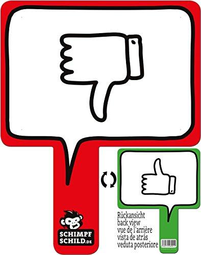 rednow products Lustiges Meinungsschild für Büro, Auto, Fotoshootings, Events, Festivals, Konzerte, Schule oder Uni