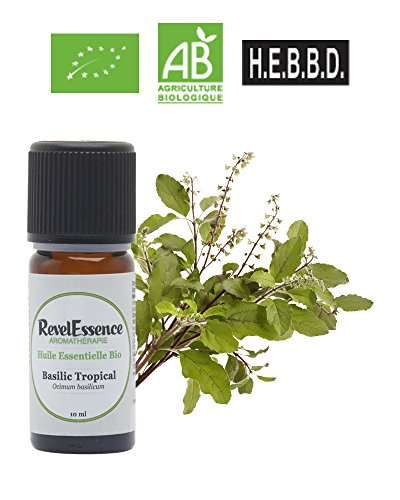 Huile Essentielle de Basilic Tropical Bio Revelessence (10 ml)