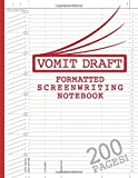Blank Screenwriting Notebook: Write Your Own Movies - 200 Pages of Pre-Formatted Script Templates - 8.5