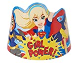 American Greetings DC Super Hero Girls Paper Tiaras, 8-Count