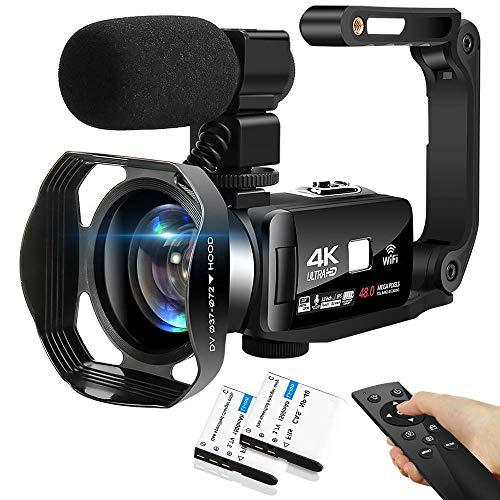 4K Camcorder 48MP 18X Digital Camera WiFi IR Night Vision Video...