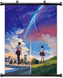 Your Name (Kimi no Na wa) New Anime Fabric Wall Scroll Poster (16x23) Inches