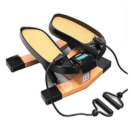 YUXIAOYU 2 in 1 Stepper, Mini-Übungs-Crosstrainer mit App, Ellipsentrainer für Übungen im Büro zu Hause, Trainingsgerät für Fitnessgeräte, Fitness-Stoßdämpfungssystem für Heimtrainer
