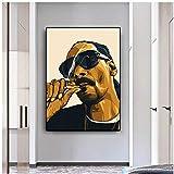 Snoop Dogg Hip Hop Figur Kunst Poster Drucke auf Leinwand
