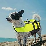 PETLESO Chaleco salvavidas para perros, chaleco salvavidas reflectante para...