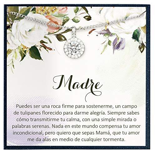 Grace of Pearl Regalo de Madre para Madre Regalo de Cumpleaños para Boda Regalo De Madre Regalo de Cotización Española Regalo para Madre Regalo en Español