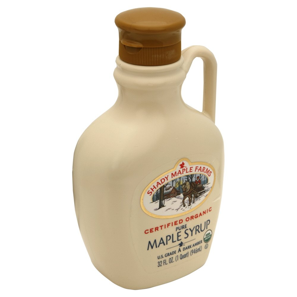 SHADY MAPLE FARM SYRUP AMBER ORG A Branded goods OZ Ranking TOP1 PLSTC 32