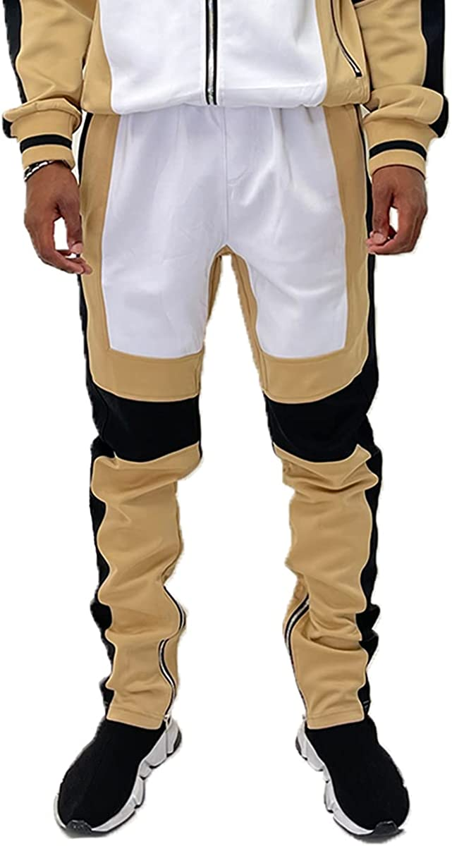 Weiv Gear Men's Track Pants – Color Mail New product!! order Side Block Casual