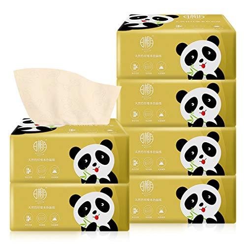 Toilettenpapier Ohne Plastik Toilettenpapier 3 Lagig Wahre Farbe von Bambuspulpe Natürlicher Kein Duft Tragbar Klopapier Verfügbarkeit von Müttern und Säuglingen