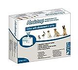 Aboistop Spray- und Halsband-Set für Hunde gegen Bellen