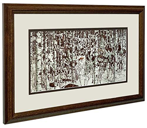 Bev Doolittle WOODLAND ENCOUNTER Matted & Framed Open Edition Art Print