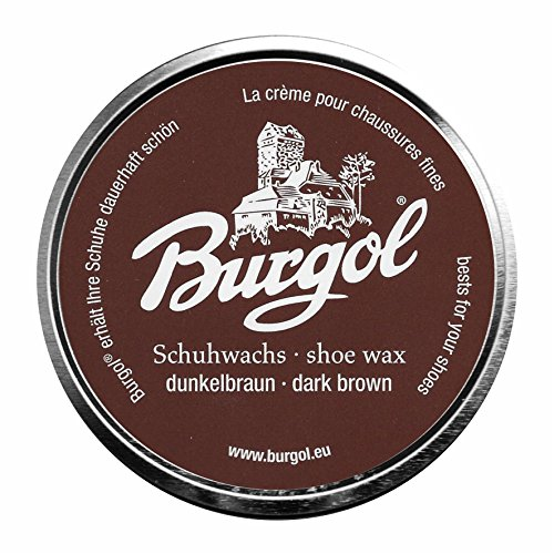 Burgol Palmwachs Schuhcreme 100 ml (dunkelbraun)