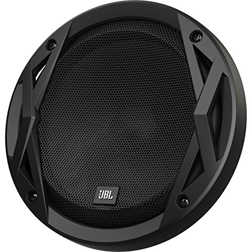 JBL Club 6500C 2-Wege Auto Soundsystem - 180 Watt Komponenten Auto Lautsprecher Boxen Set mit 160mm Plus One KFZ Einbaulautsprecher, Silk Dome Hochtöner & Frequenzweichen