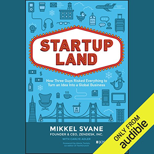 Startupland audiobook cover art
