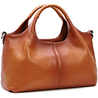 Iswee Womens Leather Handbags Tote Bag