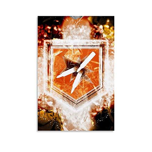 Call Of Duty - Stampa su tela con doppio tap 2.0, per decorazioni domestiche, 40 x 60 cm