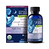 Mommy's Bliss Organic Baby Cough Syrup & Mucus Night Time, Contains Organic Agave and Ivy Leaf, Made for Babies 4 month+, 1.67 Fluid Ounces