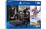 Newest Sony Playstation 4 PS4 1TB HDD Gaming Console Bundle with Three Games: The Last of Us, God of War, Horizon Zero Dawn, Included Dualshock 4 Wireless Controller