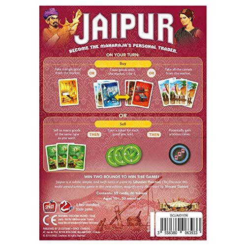 Space Cowboys - Jaipur 2nd Edition - Board Game