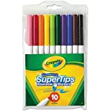 Crayola Broad Line Markers, Classic Colors 10...