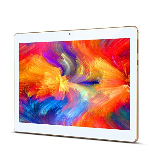 Padgene Tablet 10 Zoll, 10.1 Zoll Android Tablet mit Quad Core, 2GB RAM 32GB ROM, 2MP & 5MP Kamera, 3G Dual SIM Phablet WiFi/Bluetooth/GPS