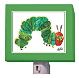 Oopsy Daisy Eric Carle's Night Light, The Very Hungry Caterpillar, 5' x 4'