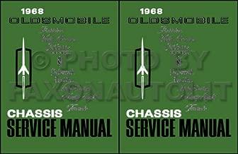 1968 OLDSMOBILE FACTORY REPAIR SHOP & SERVICE MANUALS - A 2 VOLUME SET. INCLUDES: F-85, Cutlass, Cutlass Supreme, 442, Vista-Cruiser, Delmont 88, Delta 88, Delta 88 Custom, Ninety-Eight 98, and Toronado. OLDS 68