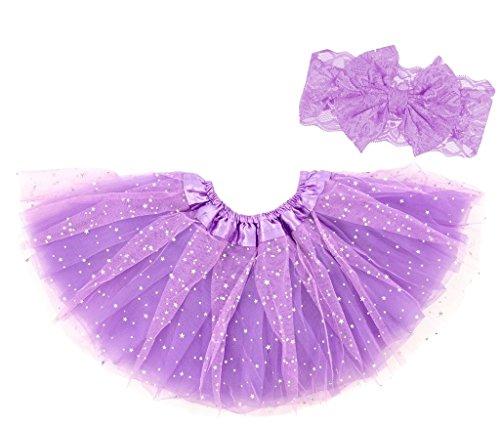 Dancina Toddler Baby Purple Tutu 6-24 Months Lavender