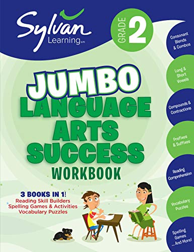 2nd Grade Language Arts Success Workbook (Sylvan Super Workbooks): 3 Books...