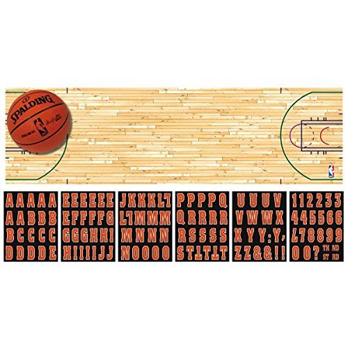 """""""Spalding Basketball Collection"""" Giant Customizable Banner, Party Decoration"""
