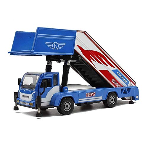 SOME For Locomotive Model Toy Car Alloy Engineering Vehicle Airport Transport Boarding Flight Ladder Stair Car