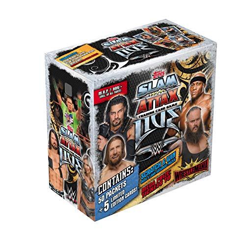 Topps WWE Sa Live Collection Tragetasche Tragekoffer mehrfarbig