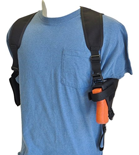 "Federal Shoulder Holster for Springfield XDs & XDe 3.3"" Barrel Without Laser or Light, 9mm & 45 Very Compact with Double Mag Pouch"